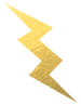 THE GOLDEN BOLT Logo